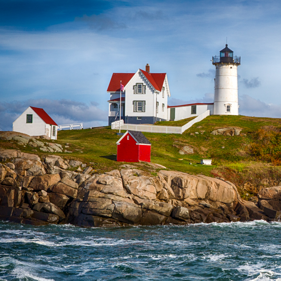 Lighthouses of Southern Maine photo tour