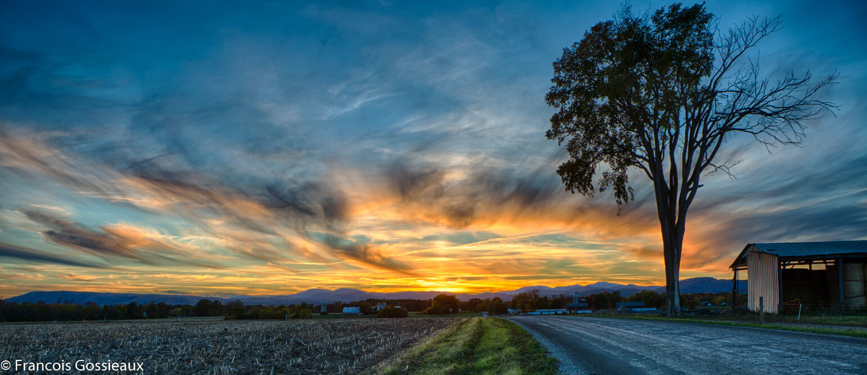 Classic Vermont Sunset