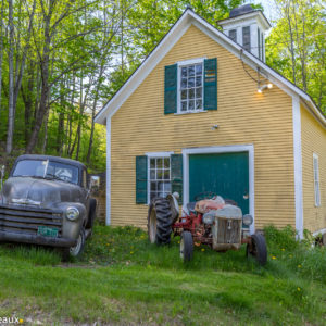 Antique cars and tractors