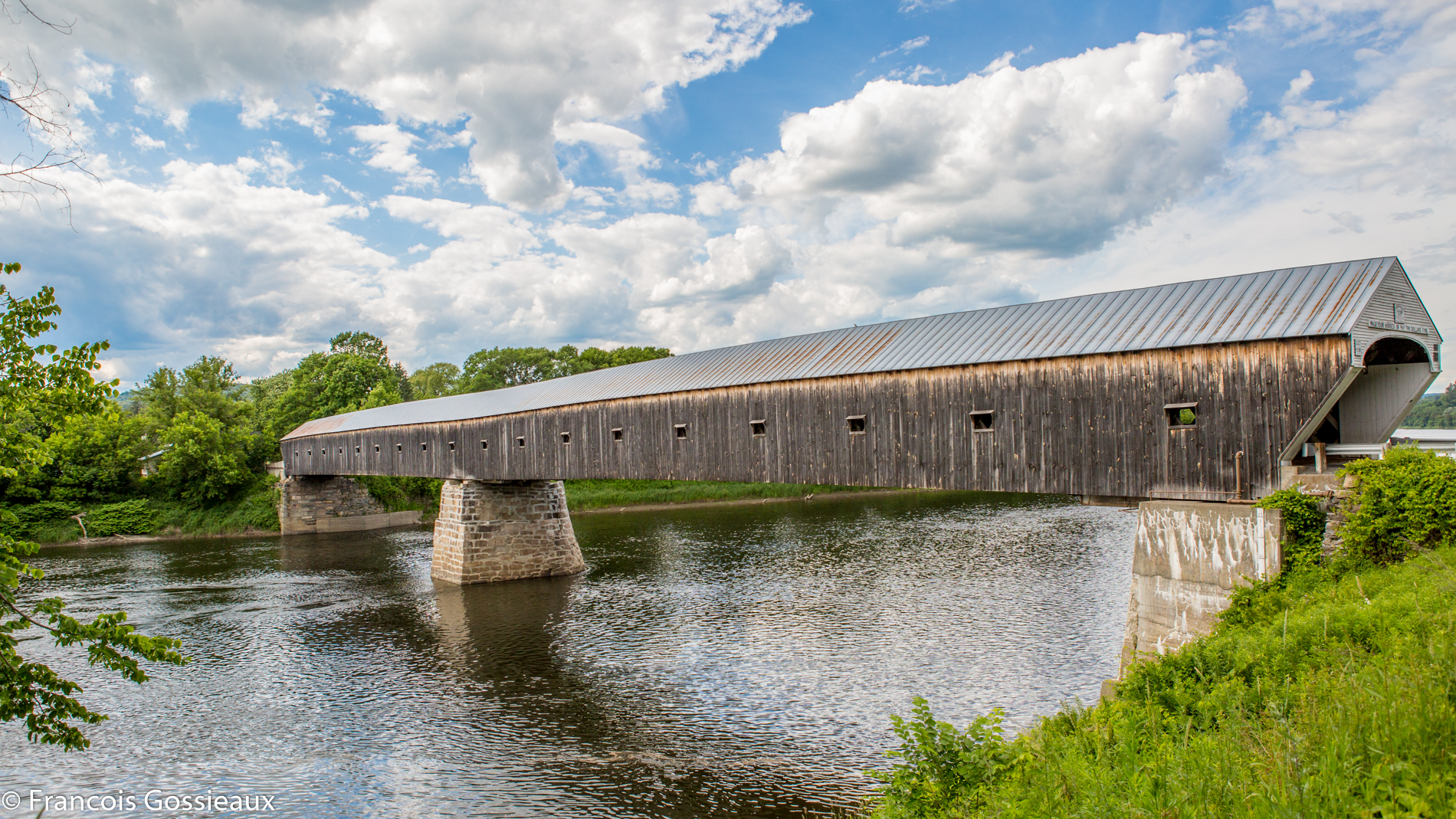 Covered bridge windsor vt